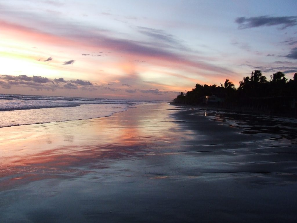 About Las Lajas, the beach