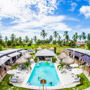 Accommodations in Las Lajas, Show Pony Beach Resort
