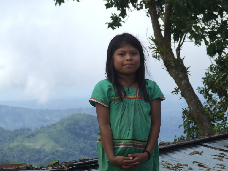 Girl from Comarca Ngöbe-Buglé